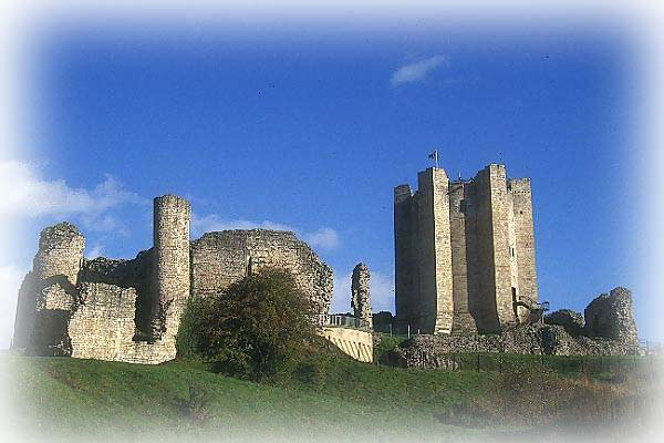 Conisbrough Castle Built about 1164